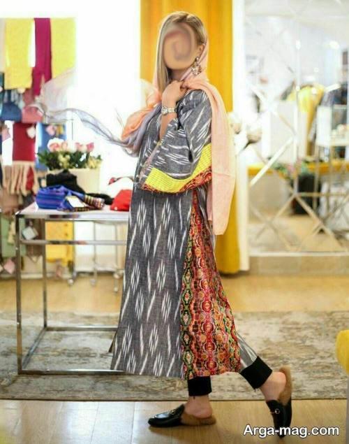 مدل مانتو گلدار عید 99